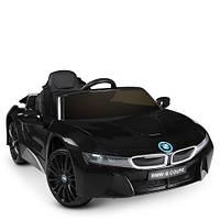 Детский электромобиль Bambi JE 1001 EBLR-2 BMW i8 Coupe, черный