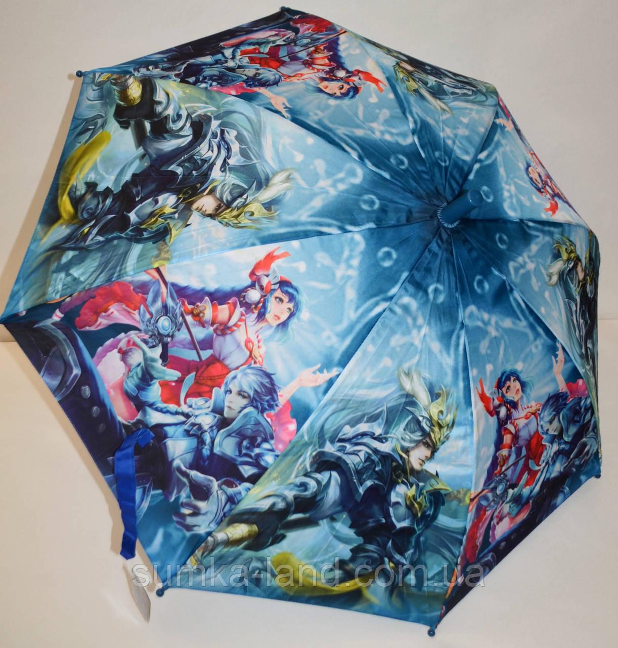 Детский зонт-трость Fiaba на 8 спиц для мальчиков и девочек