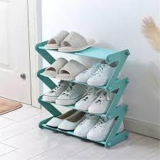 Полку для взуття на 8 пар взуття Shoe Rack. Полку для взуття складна на 4 полки