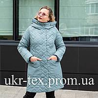 Женская весенняя куртка большого размера 50,56,58,60 волна