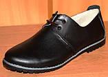 Туфли женские на низком ходу кожаные от производителя модель НТ10Р, фото 5