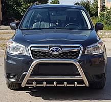Кенгурятник на Subaru Forester (2012-2018) Субару Форестер