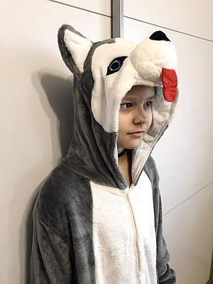 Кигуруми - Хаски детский - Пижама теплая  Кигуруми - Оригинал