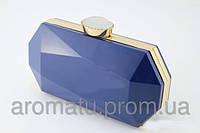 Клатч из пластика синий