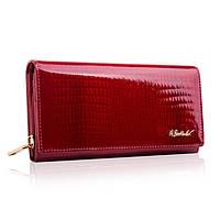 Жіночий шкіряний гаманець Betlewski з RFID 19,2 х 10 х 3,5 (BPD-CR-106) - червоний, фото 1