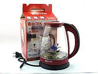 Електричний чайник з підсвічуванням ВІТЕК 1.8 л скло