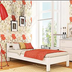 Ліжко дерев'яне односпальне Рената (бук)