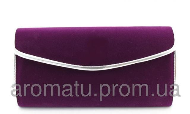 87d2b06968ea Клатч Фиолетовый велюровый  продажа, цена в Бердичеве. женские ...