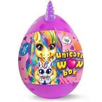 "Яйцо сюрприз ""Unicorn Surprise Box"", 15 сюрпризов, 20 см, набор для детского креативного творчества."