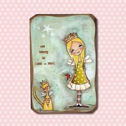 """Картина """"Good friend"""" замечательный подарок девушке"""