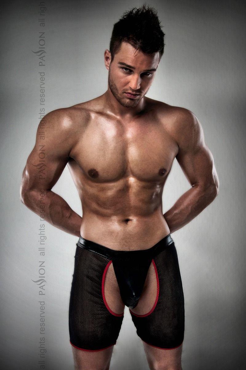 Мужские трусики-шорты Passion 012 THONG black L/XL