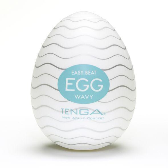 Мастурбатор яйцо Tenga Egg Wavy (Волнистый)