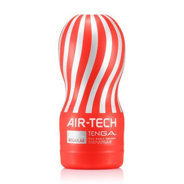 Мастурбатор Tenga Air-Tech Regular, более высокая аэростимуляция и всасывающий эффект
