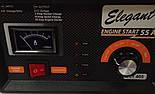 Зарядно-пусковий пристрій для акумуляторів 2/10/55А  6/12В Elegant Maxi EL 101 405, фото 4