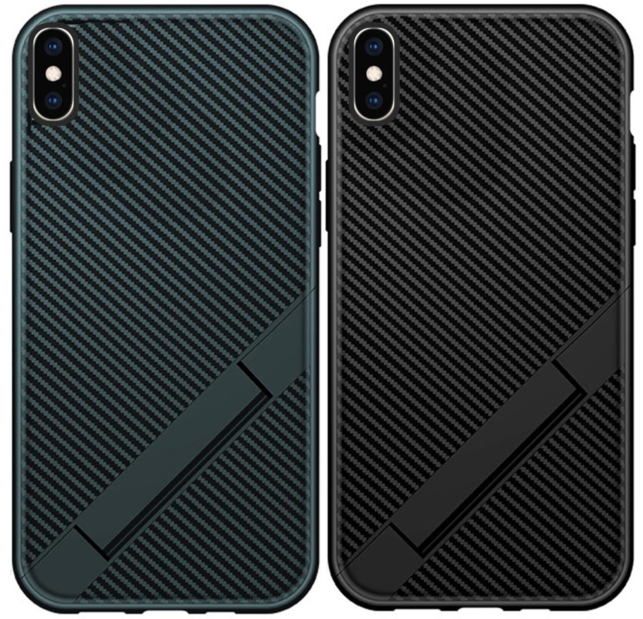 Чехол-накладка TPU Magic Folding series для IPhone X / Xs