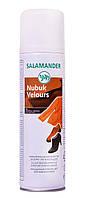 Краска для замши и нубука Leather Fresh 250мл (Тёмно-коричневый 033) - Salamander, фото 1