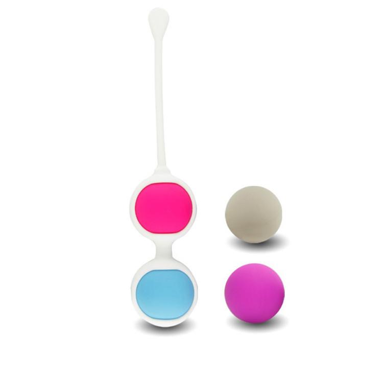 Набор вагинальных шариков для тренировки интимных мышц