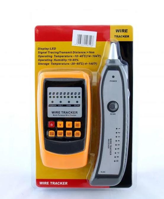 Кабельний тестер мультиметр DT GM60, шукач проводів, цифровий тестер, мультиметри