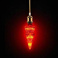 """Лампа світлодіодна LED """"PINE"""" Horoz 2W E27 19Lm червона"""