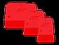 Шпатели из кополимера APP STS 3, 3 шт Комплект, фото 3