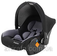 Автокресло Bair Kappa 0+ (0-13 кг) DK 2423 черный - серый
