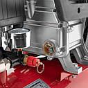 Компрессор 24 л, 1.5 кВт, 220 В, 8 атм, 206 л/мин. INTERTOOL PT-0009, фото 6
