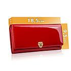 Жіночий шкіряний гаманець Betlewski з RFID 18,5 х 9,5 х 3,5 (BPD-VS-100) - червоний, фото 2