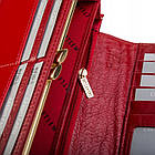 Жіночий шкіряний гаманець Betlewski з RFID 18,5 х 9,5 х 3,5 (BPD-VS-100) - червоний, фото 3