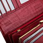 Жіночий шкіряний гаманець Betlewski з RFID 18,5 х 9,5 х 3,5 (BPD-VS-100) - червоний, фото 5