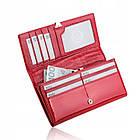 Жіночий шкіряний гаманець Betlewski з RFID 18,5 х 9,5 х 3,5 (BPD-VS-100) - червоний, фото 9