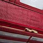 Жіночий шкіряний гаманець Betlewski з RFID 18,5 х 9,5 х 3,5 (BPD-VS-100) - червоний, фото 10