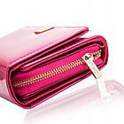 Жіночий шкіряний гаманець Betlewski з RFID 16 х 10 х 4 (BPD-VS-513) - рожевий, фото 3