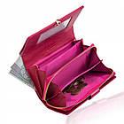 Жіночий шкіряний гаманець Betlewski з RFID 16 х 10 х 4 (BPD-VS-513) - рожевий, фото 4