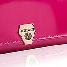 Жіночий шкіряний гаманець Betlewski з RFID 16 х 10 х 4 (BPD-VS-513) - рожевий, фото 6