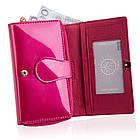 Жіночий шкіряний гаманець Betlewski з RFID 16 х 10 х 4 (BPD-VS-513) - рожевий, фото 7