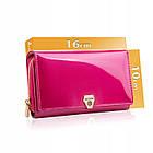 Жіночий шкіряний гаманець Betlewski з RFID 16 х 10 х 4 (BPD-VS-513) - рожевий, фото 8