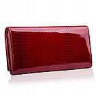 Жіночий шкіряний гаманець Betlewski з RFID 18,5 х 9,5 х 3,5 (BPD-CR-100) - червоний, фото 2