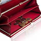Жіночий шкіряний гаманець Betlewski з RFID 18,5 х 9,5 х 3,5 (BPD-CR-100) - червоний, фото 5