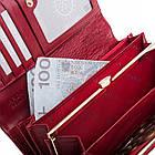 Жіночий шкіряний гаманець Betlewski з RFID 18,5 х 9,5 х 3,5 (BPD-CR-100) - червоний, фото 7