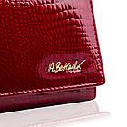 Жіночий шкіряний гаманець Betlewski з RFID 18,5 х 9,5 х 3,5 (BPD-CR-100) - червоний, фото 8
