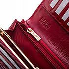 Жіночий шкіряний гаманець Betlewski з RFID 18,5 х 9,5 х 3,5 (BPD-CR-100) - червоний, фото 9