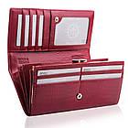 Жіночий шкіряний гаманець Betlewski з RFID 18,5 х 9,5 х 3,5 (BPD-CR-100) - червоний, фото 10