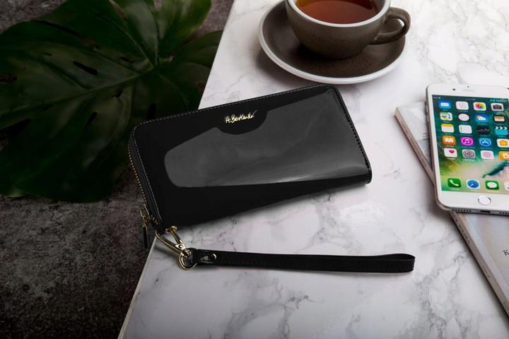 Шкіряний гаманець-пенал BETLEWSKI з RFID