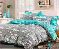 Комплект постельного белья бязь Love Selena (Двуспальный)