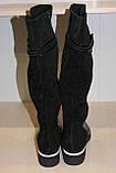 Сапоги кожаные женские черные 36-41 р от производителя, фото 6