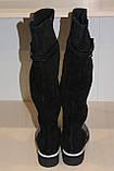 Сапоги кожаные женские черные 36-41 р от производителя, фото 5