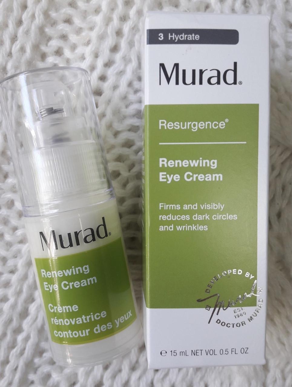 Крутой антивозрасной крем под глаза MURAD Renewing Eye Cream