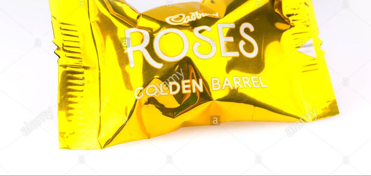 Конфеты Cadbury Roses Golden caramel
