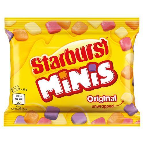Жевательные конфеты Starburst Original Minis 45 g