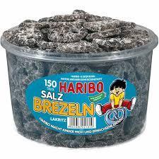 Желейные конфеты Haribo Salz Brezeln 150 stuck 1050 g